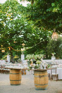 Magical Wedding Reception in Italy http://www.italyweddingplanner.com