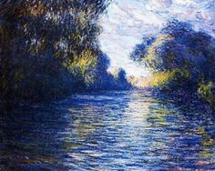 Morning On The Seine. Claude Monet  http://www.painterlog.com/