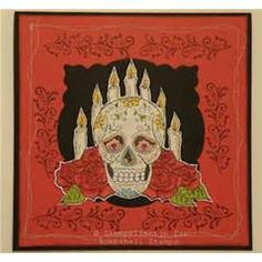 ... Stamps | Sugar Skulls/Day of the Dead -- Bombshell Stamps