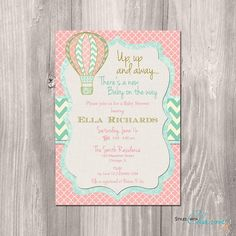 Hot+air+balloon+invitation++hot+air+balloon+by+StyleswithCharm,+$12.00
