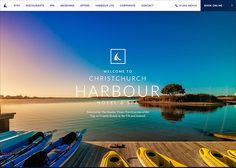Christchurch Harbour Hotel #webdesign #inspiration #UI