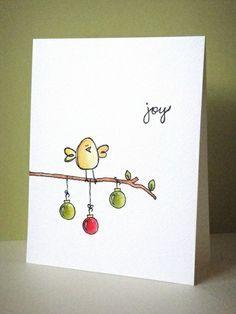 weihnachtskarten selber basteln und zeichnen