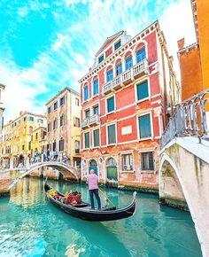 Journey on. Venice Italy. #travelnoire #venice