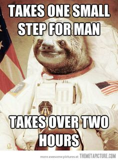 slothstronauts. last one, i have to save more sloth for later.