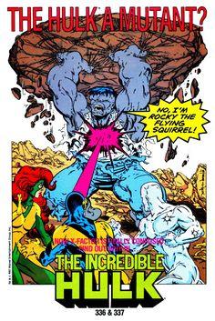 Coincidentally, Hulk with the marvel now return of Abomnation came out today. Marvel Comics Superheroes, Hulk Marvel, Marvel Art, Avengers, World War Hulk, Old Comic Books, Comics For Sale, Cartoon Photo, Hulk Smash