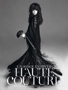 les-trous-noirs:    Vogue Paris-November 2012, Kati Nescher byInez & Vinoodh