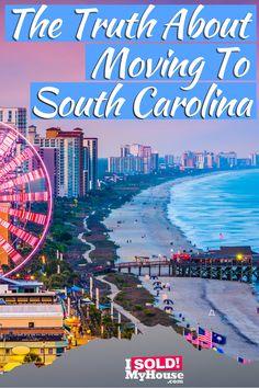 Moving To South Carolina, Carolina Do Sul, South Carolina Coast, South Carolina Vacation, Greenville South Carolina, Myrtle Beach Boardwalk, Myrtle Beach Sc, Myrtle Beach Things To Do, Down South