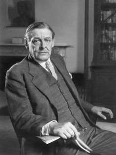 "T.S. Eliot: ""Anxiety is the hand maiden of creativity."""
