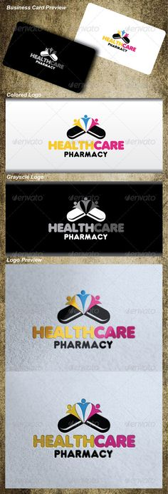 Health Care Pharmacy Logo  #GraphicRiver         Health Care Pharmacy Logo created with separate layer. Size, color & text can be easily changed!  	 INCLUDES : •  AI file with separate layer. •   EPS file with separate layer for easy copy and paste. •    PNG , PSD & JPEG file.  FONTS USED : 	 	 EDITABLE TEXT SO YOU CAN CHANGE TEXT  		 FONT NAME : Debussy & Dunkin-sans. 		 FONT DOWNLOAD LINK  	  	 .dafont /debussy.font  .dafont /dunkin-sans.font     Created: 18October12…