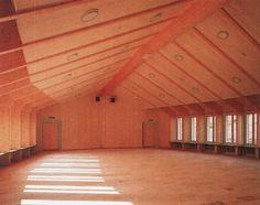 Miroslav Šik - Gemeindezentrum St. Antonius, Egg, 1997 Miroslav Sik, Wood Design, Architecture, Eggs, Interior Design, Arquitetura, Nest Design, Home Interior Design, Interior Designing