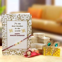 This Raksha Bandhan Send something special to your Bhaiya and Bhabhi - Anywhere in India.