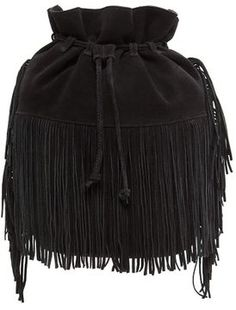 TOUCH - Fringed bucket bag on shopstyle.com