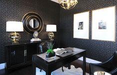 elegant home office...