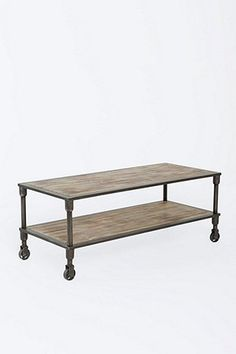Industrial Coffee Table - Urban Outfitters