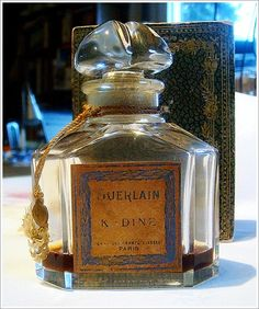 vintage perfume bottles for decoration | guerlain kadine