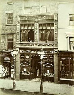 Circus Restaurant, 213 Oxford Street, Marylebone St Johns Wood And Mayfair, Greater London 1886
