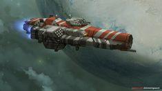 Yatagan Class Destroyer by Shimmering-Sword.deviantart.com on @DeviantArt