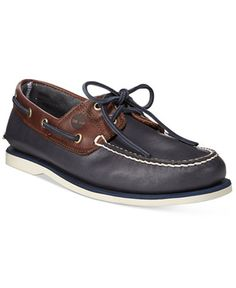 77a1f193bcf Timberland Men s Classic 2-Eye Boat Shoes   Reviews - All Men s Shoes - Men  - Macy s