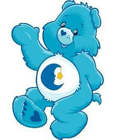 Care Bear Bed Time Bear, care bears decal, care bears sticker, car decal, window sticker, wall decal, wall sticker, vinyl decal