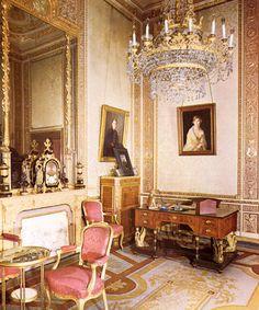 Despacho oficial de Alfonso XIII en el palacio Real de Madrid