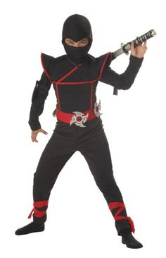 California Costumes Stealth Ninja Toddler Costume, 4-6 - http://www.holidaygoodness.com/california-costumes-stealth-ninja-toddler-costume-4-6-6/ #Holidays #Halloween