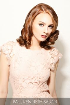 hairstyles for square jaw : ... user event hairstyles special event red hot wedding saved by pk salon