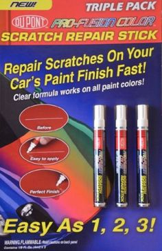 how to tell a clear coat scratch