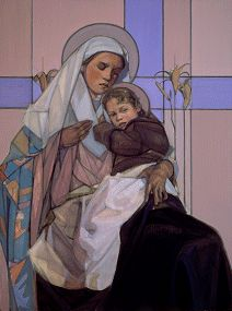 Madonna and Child by Janet McKenzie