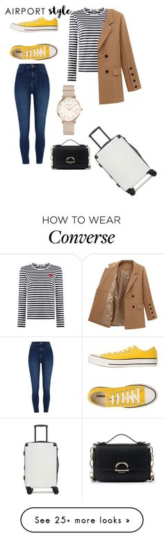 """Untitled #167"" by spacegirl-1 on Polyvore featuring CalPak, River Island, Converse, ROSEFIELD, Sole Society and airportstyle"