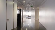 Formica® High Pressure Laminate (HPL) and Formica® Compact were used throughout Quiron hospital located in Biscay, Spain