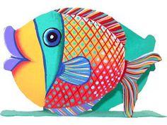 dibujos de peces en color  Buscar con Google  peces  Pinterest