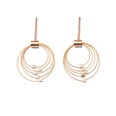 Grad Circle Posts by Meghan Patrice Riley: Jewelry Earrings available at www.artfulhome.com