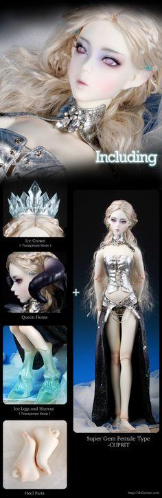Doll SOOM Cuprit Black Frost