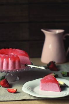 Kanela y Limón: Pudin de fresas