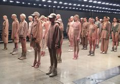 An Exclusive Behind The Scenes Look At The Yeezy Season 2 Show Page 9 of 9 - SneakerNews.com