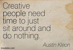 Creative Pause