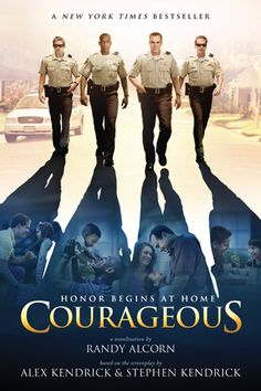 From the creators of Fireproof comes an inspiring new story about everyday heroes who long to be the kinds of dads that make a lifelong impact on their children--Courageous by Randy Alcorn