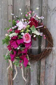 Spring Wreath, Elegant Easter Wreath, Calla Lily Wreath, Elegant Floral Wreath, Designer Wreath, Elegant Spring Floral, Luxury Spring Wreath, New England Wreath