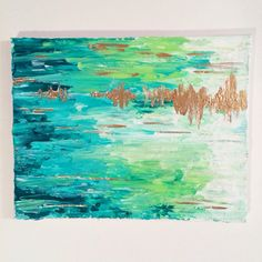 Grass Canvas 11x14
