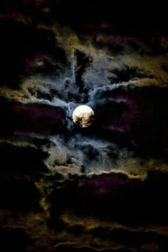 """""""We love the night and its quiet; and there is no night that we love so well as that on which the moon is coffined in clouds. Sombra Lunar, Luna Moon, Shoot The Moon, Moon Shadow, Moon Photography, People Photography, Good Night Moon, Dark Night, Night Time"""
