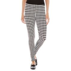 Mixit™ Houndstooth Leggings  found at @JCPenney