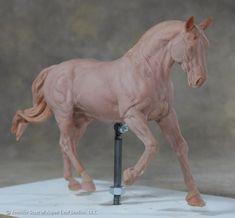 Aspen Leaf Studios Blog - Jennifer Scott: Cantering WB - finished the sculpey part!