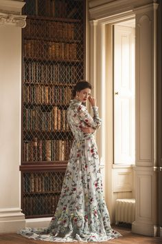 Outlander star Caitriona Balfe in Erdem photographed by Martin Scott Powell for Departures Magazine: Scotland Claire Fraser, Jamie And Claire, Jamie Fraser, Outlander Casting, Outlander Book, Outlander 2016, Outlander Locations, Golden Globe Nominations, People