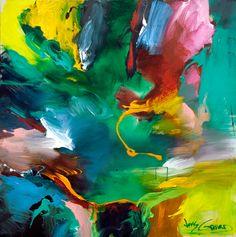 Meu blog de arte - Pintura Moderna: Jonas Gerard , expressionista de representação abstrata