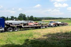 Caddy Train: 1959 Cadillac DeVille - http://barnfinds.com/caddy-train-1959-cadillac-deville/