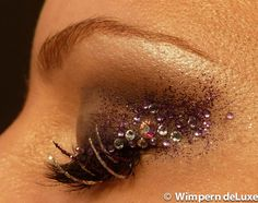 Glamour Look mit Wimpernextensions