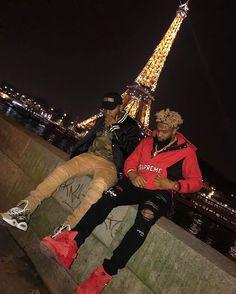 Cash us in Paris... #HowBowDah @bendadonnn