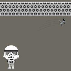 Star Wars Babies: Stormtrooper 12 x 12 Paper
