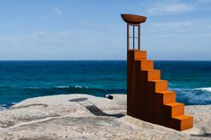 sculptures by the sea.