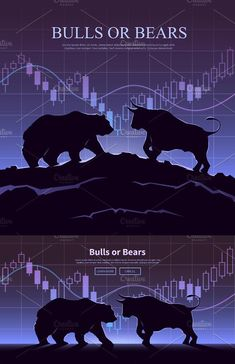 The bulls and bears struggle. Global Stock Market, Trading Quotes, Wall Street, Forex Trading, Cryptocurrency, Geometry, Mustang, Astrology, Battle